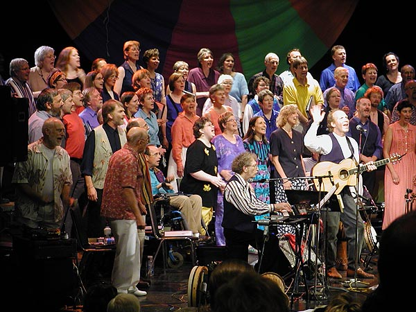 Haines & Leighton with Open Voices Choir, Kingston