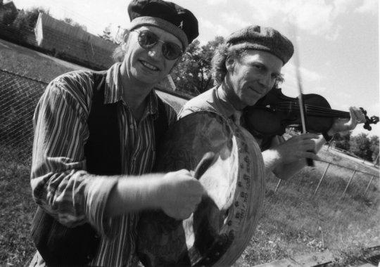 Haines and Leighton at Woodbridge fair