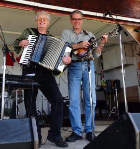 "Tom & Conrad at the ""Just Past the Pines Jamboree"""